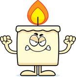 Angry Cartoon Candle Stock Photos