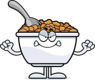 Angry Cartoon Cereal Stock Photos