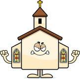 Angry Cartoon Church Royalty Free Stock Photo