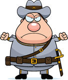 Angry Cartoon Confederate Soldier Stock Photos