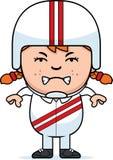 Angry Cartoon Daredevil Royalty Free Stock Photo