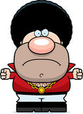 Angry Cartoon Disco Guy Royalty Free Stock Images