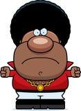 Angry Cartoon Disco Man Stock Photography