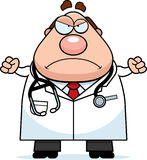 Angry Cartoon Doctor Stock Images