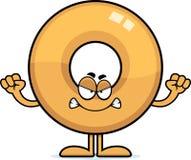 Angry Cartoon Doughnut Royalty Free Stock Image