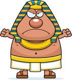 Angry Cartoon Egyptian Pharaoh Royalty Free Stock Image
