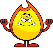 Angry Fire Cartoon Character Holding A Stop Sign Stock ... No Spitting Sign Vector