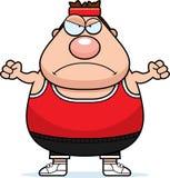Angry Cartoon Fitness Stock Photo