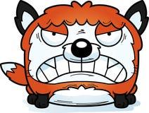 Angry Cartoon Fox Royalty Free Stock Image