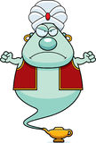 Angry Cartoon Genie Royalty Free Stock Images