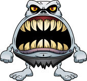 Angry Cartoon Ghoul Royalty Free Stock Images