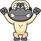 Angry Cartoon Gibbon Stock Photo