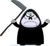 Angry Cartoon Grim Reaper Royalty Free Stock Photos