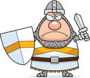Angry Cartoon Knight Royalty Free Stock Photo