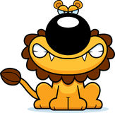 Angry Cartoon Lion Royalty Free Stock Image