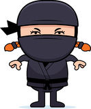 Angry Cartoon Little Ninja Stock Photos