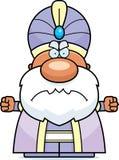Angry Cartoon Maharaja Royalty Free Stock Photo