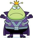 Angry Cartoon Martian King Stock Photos