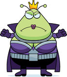 Angry Cartoon Martian Queen Royalty Free Stock Photos