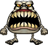 Angry Cartoon Mummy Stock Photography