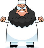 Angry Cartoon Muslim Royalty Free Stock Images