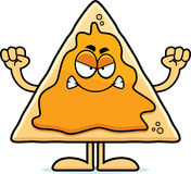 Angry Cartoon Nachos Royalty Free Stock Photo