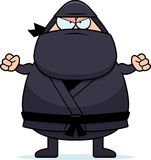 Angry Cartoon Ninja Stock Photo