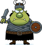 Angry Cartoon Orc Stock Photos