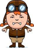 Angry Cartoon Pilot Stock Photos