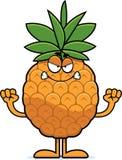 Angry Cartoon Pineapple Royalty Free Stock Photos