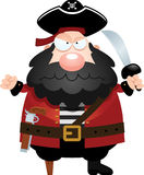 Angry Cartoon Pirate Royalty Free Stock Photos