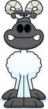 Angry Cartoon Ram Royalty Free Stock Photos