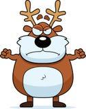 Angry Cartoon Reindeer Royalty Free Stock Photos
