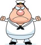 Angry Cartoon Sailor Stock Photo