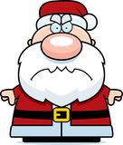 Angry Cartoon Santa Claus Stock Photography