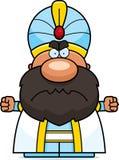 Angry Cartoon Sultan Stock Photos
