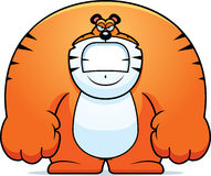 Angry Cartoon Tiger Royalty Free Stock Photography