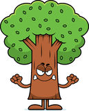 Angry Cartoon Tree Royalty Free Stock Image