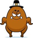 Angry Cartoon Turkey Pilgrim Royalty Free Stock Photo
