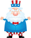 Angry Cartoon Uncle Sam Royalty Free Stock Photo