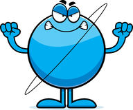 Angry Cartoon Uranus Royalty Free Stock Photos