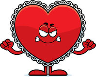 Angry Cartoon Valentine Royalty Free Stock Image