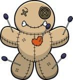 Angry Cartoon Voodoo Doll Stock Photos