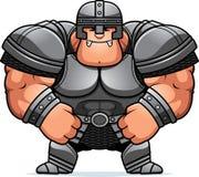 Angry Cartoon Warrior Stock Photo