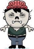 Angry Cartoon Zombie Royalty Free Stock Photos