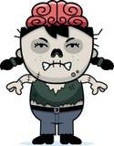 Angry Cartoon Zombie Royalty Free Stock Image