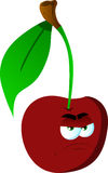 Angry cherry Royalty Free Stock Images