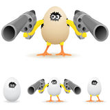 Angry chicken Royalty Free Stock Images