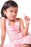 Angry child Royalty Free Stock Photos