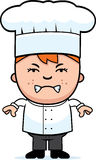 Angry Child Chef Stock Image